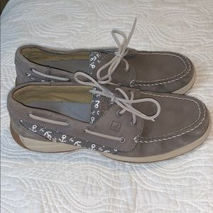 Sperry Top-Siders Boat Shoes with Anchors